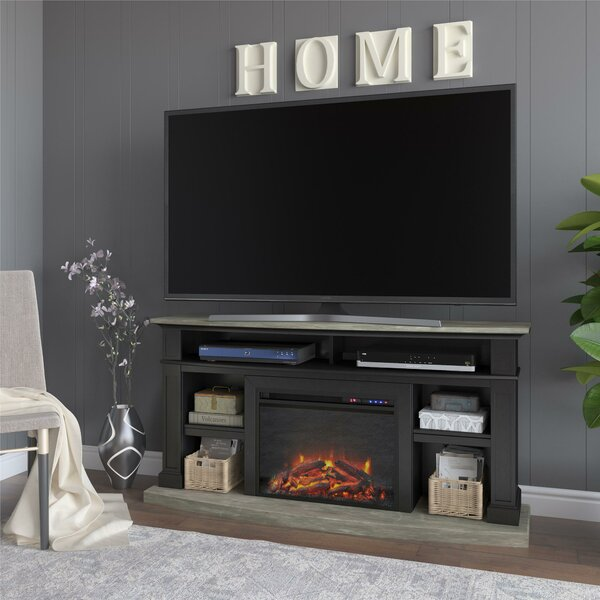Review Georgie TV Stand For TVs Up To 60