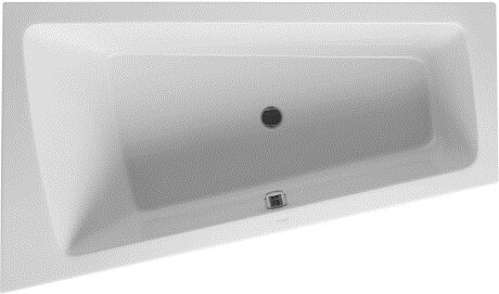 Paiova 67 x 39 Soaking Bathtub by Duravit