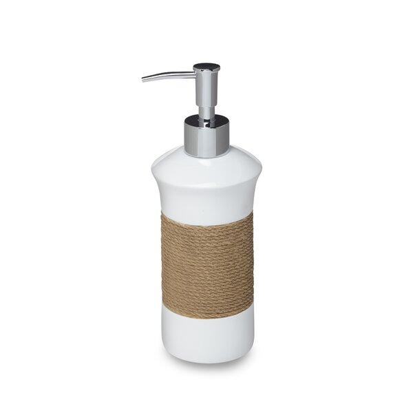 Castaway Lotion Dispenser by Roselli Trading Company