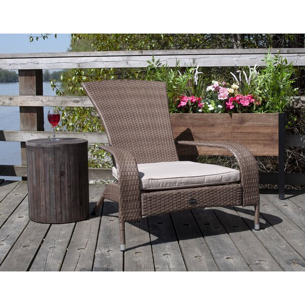 Mccreight Patio Chair with Cushion by Latitude Run