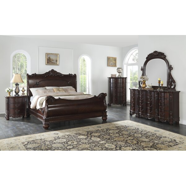 Treyton Sleigh Configurable Bedroom Set By Astoria Grand by Astoria Grand Cool