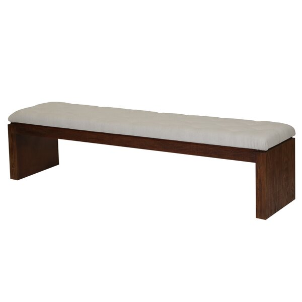 Cannes Upholstered Bench by PTM Images