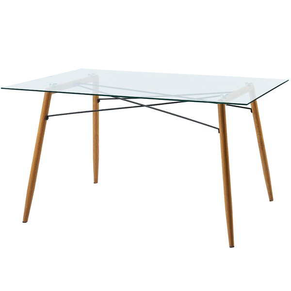 Minimalista Glass Dining Table by VERSANORA