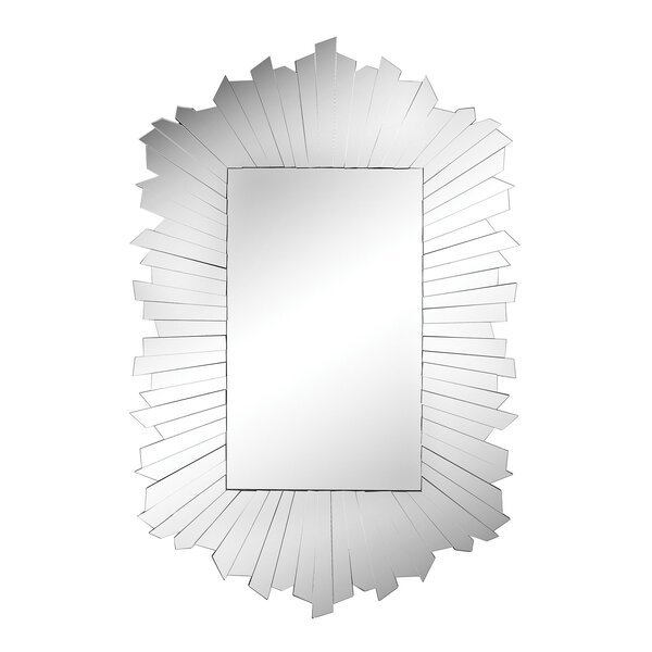 Delroy Wall Mirror by Orren Ellis