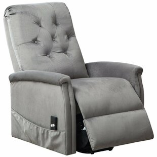 Fort Hamilton Tufted Power Lift Recliner Red Barrel Studio