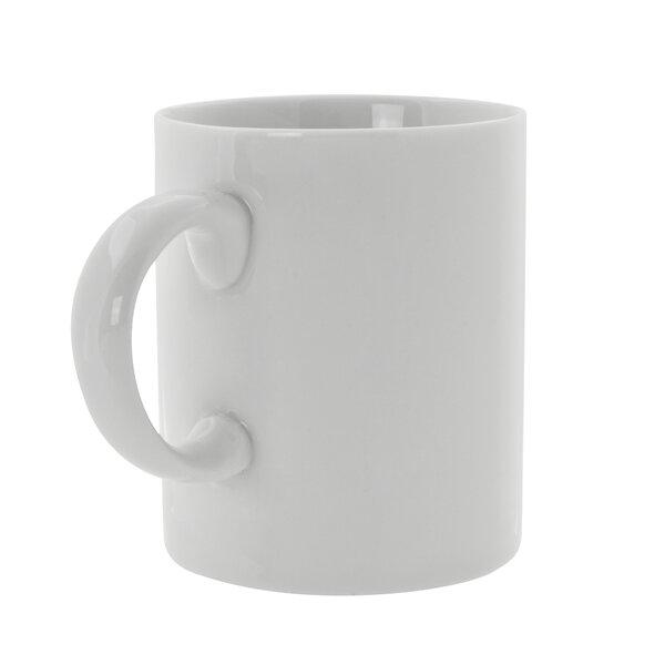 Renava 8 oz. Handle Straight Sided Mug (Set of 6) by Mint Pantry