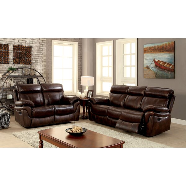 Caswell Reclining Configurable Living Room Set by Winston Porter