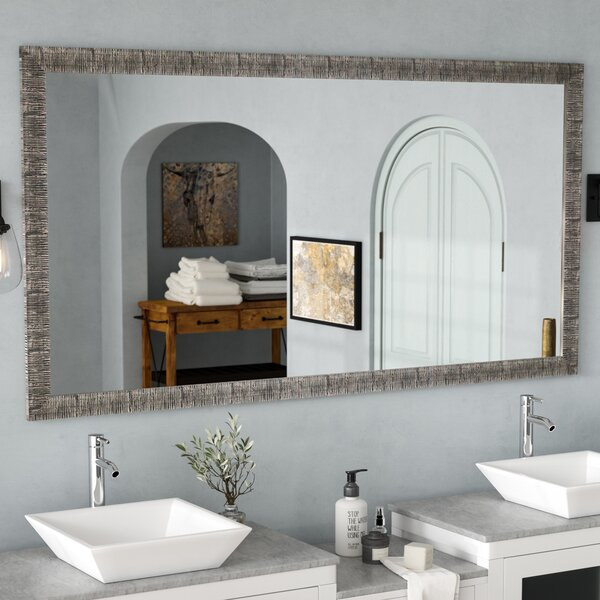Eisen Bathroom/Vanity Mirror by 17 Stories