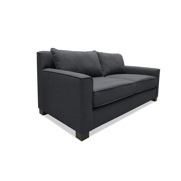 Tebelman Plush Deep Sofa by Latitude Run