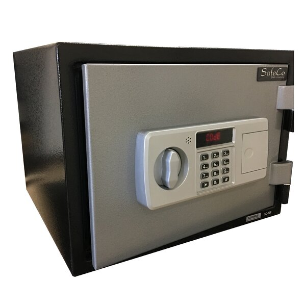 Fireproof Home Security Safe with Electronic Lock by SafeCo