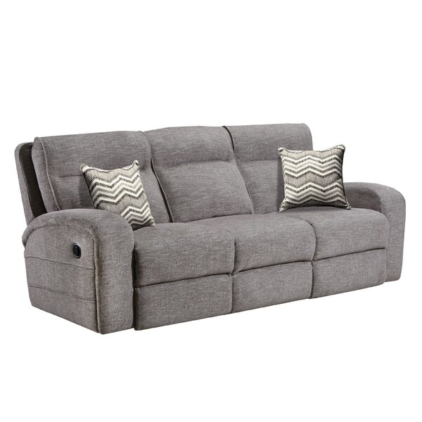 Kenda Stone Reclining Sofa by Latitude Run