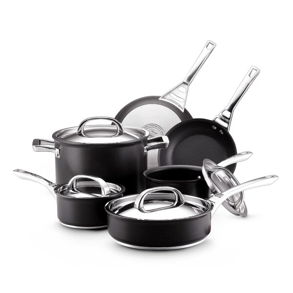 Infinite 10 Piece Non-Stick Cookware Set by Circulon