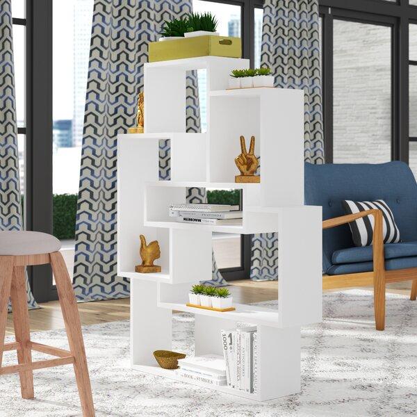 Matthew Modern Geometric Bookcase By Brayden Studio