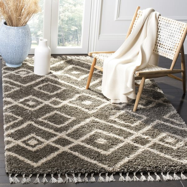 Kindred Grey Area Rug by Bungalow Rose