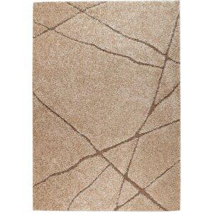Quaoar Non-shedding Brown Area Rug