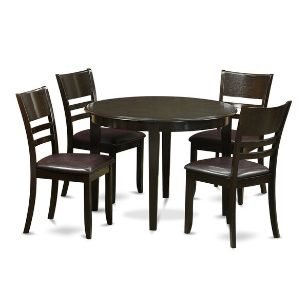 Boston 5 Piece Dining Set by Wooden Importers
