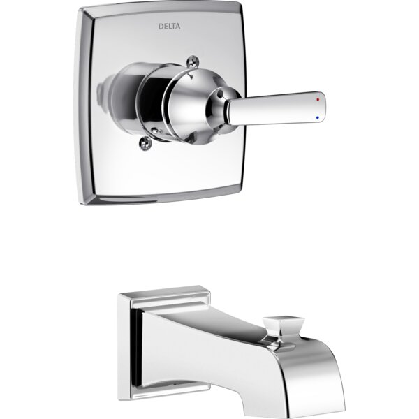 Ashlyn Tub and Shower Faucet Lever Handles by Delta