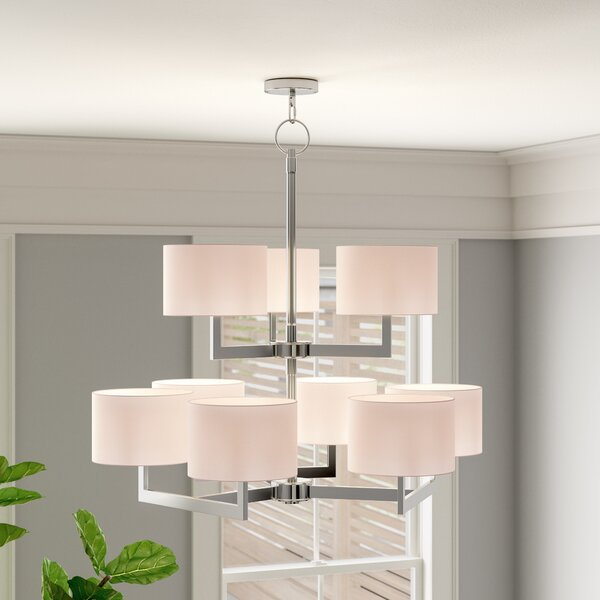 Lima 9-Light Shaded Tiered Chandelier by Zipcode Design Zipcode Design
