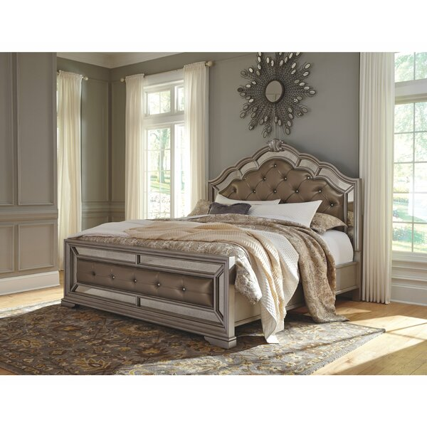 Randell Upholstered Standard Bed By Fleur De Lis Living by Fleur De Lis Living Amazing