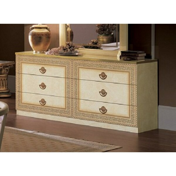 Albert 6 Drawer Double Dresser by Rosdorf Park