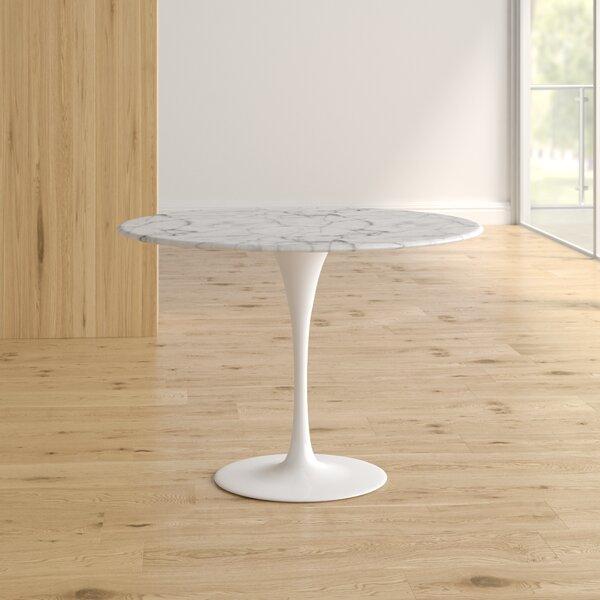 Ryanne Marble Dining Table by Orren Ellis