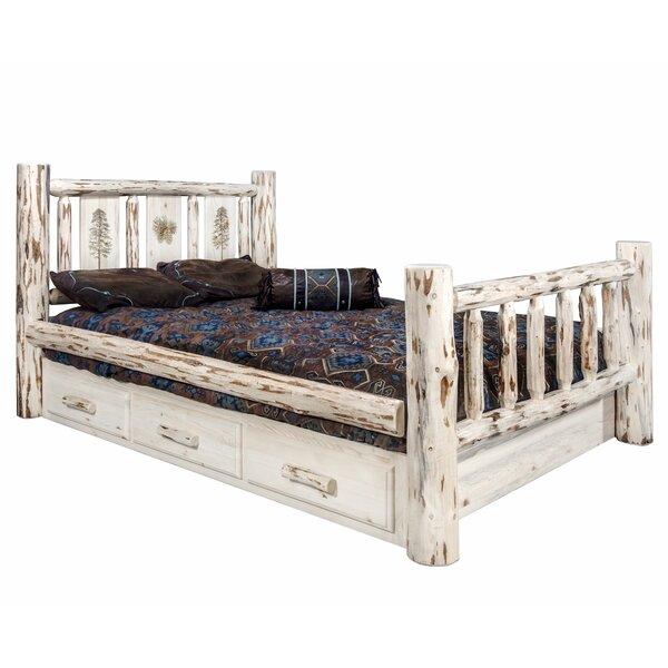 Antigo King Storage Platform Bed by Millwood Pines