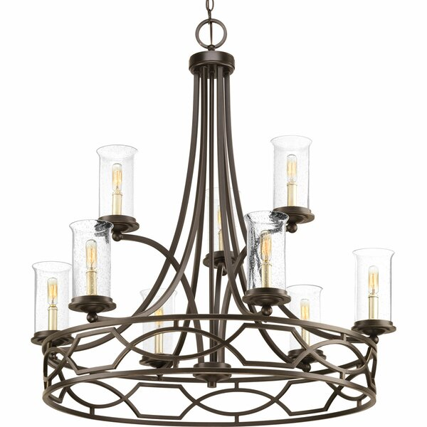 Tomoe 9 - Light Candle Style Empire Chandelier by Red Barrel Studio Red Barrel Studio