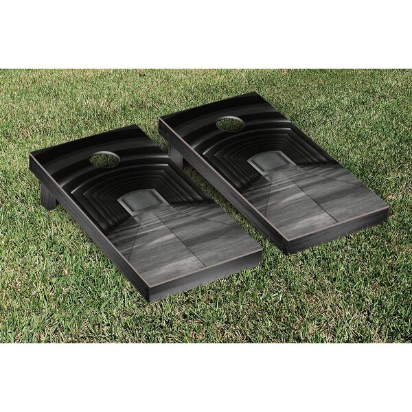 Hi Tech Hallway Themed Cornhole Game Set by Victory Tailgate