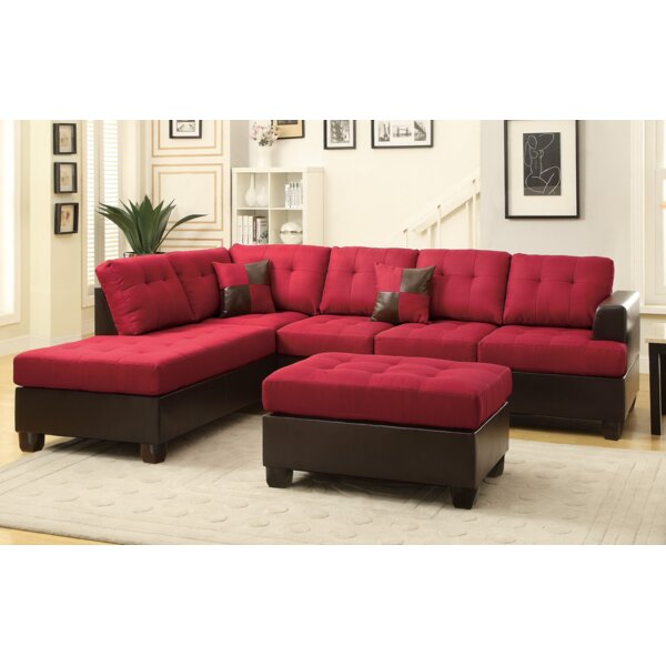 Michael Sectional with Ottoman by A&J Homes Studio