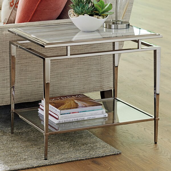 Ariana Athene Rectangular End Table by Lexington