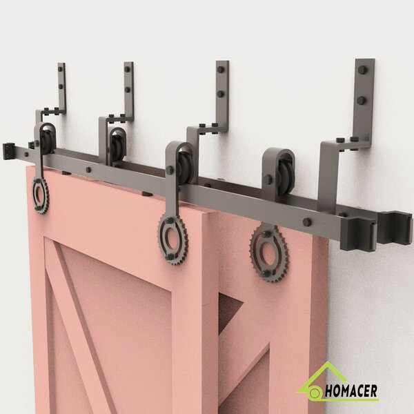 Gear Barn Door Hardware by Homacer