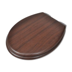 d shaped wooden toilet seat. Hard Round Toilet Seat D Shaped  Wayfair Co Uk