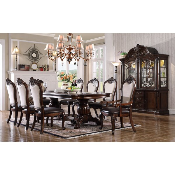 Merrionette 7 Piece Solid Wood Dining Set by Astoria Grand Astoria Grand