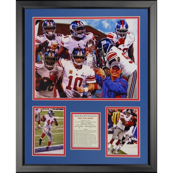 NFL New York Giants - 2011 Champs Framed Memorabili by Legends Never Die
