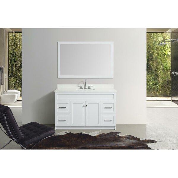 Truesdale 55 Single Bathroom Vanity Set With Mirror by Winston Porter