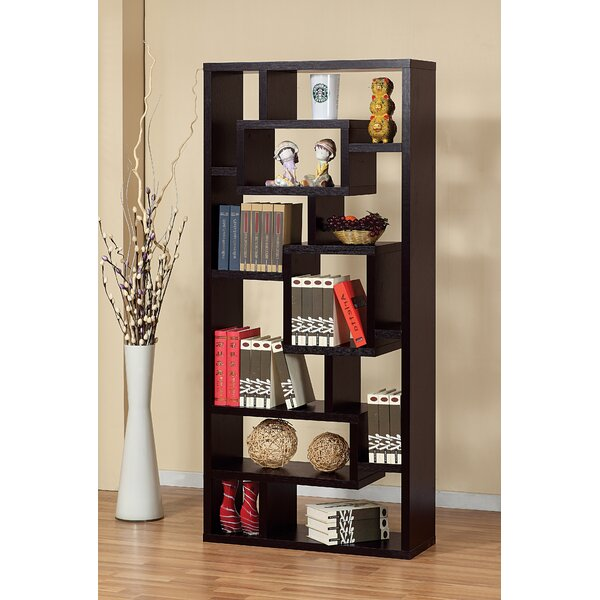 Osian Creative Office Home Utility Geometric Bookcase By Ebern Designs