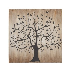 Tree Themed Classy Painting Print on Canvas by Darby Home Co