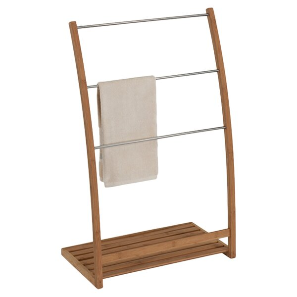 Julien Bamboo Mounting Towel Stand by Creative Bath