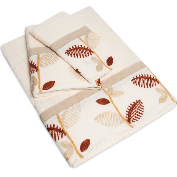 Alysia 3 Piece Towel Set by Sweet Home Collection