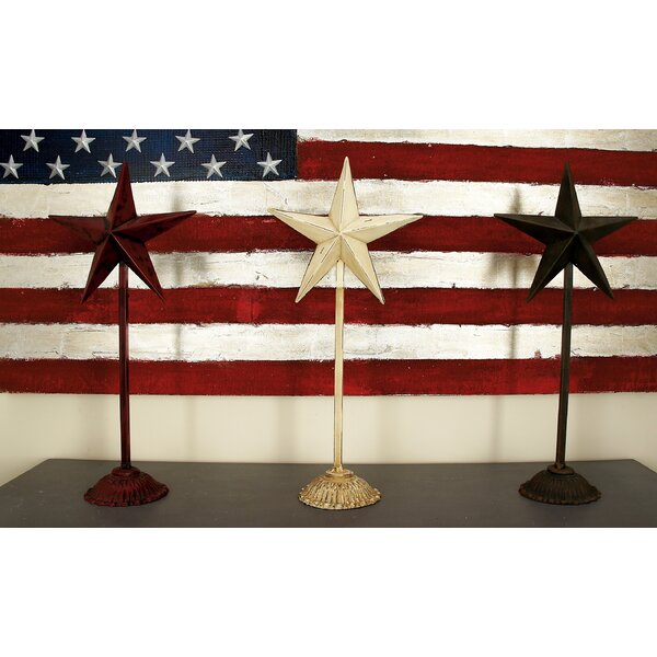 Star Sculpture (Set of 3) by Cole & Grey