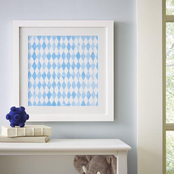 Diamond Repeat Pattern Framed Print by Birch Lane Kids™