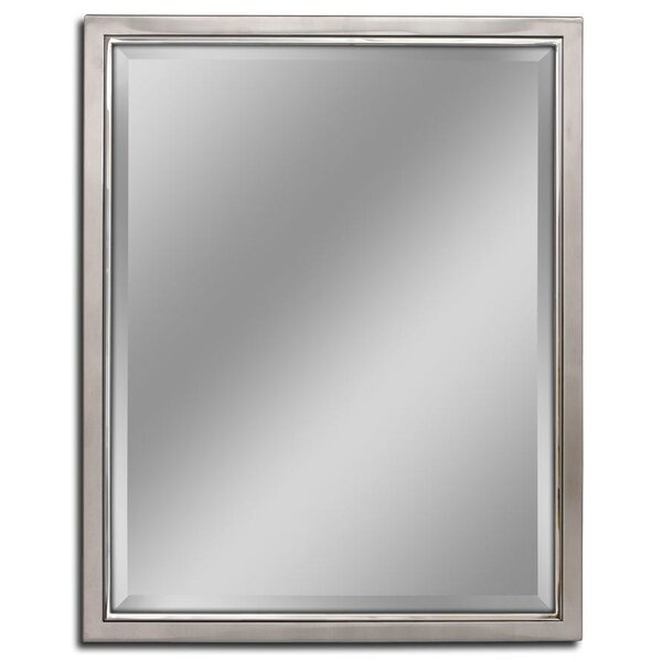 Kennith Classic Metal Framed Bathroom/Vanity Wall Mirror by Red Barrel Studio