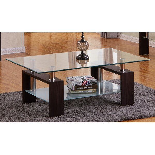 Hollard Extendable Sled Coffee Table With Storage By Orren Ellis