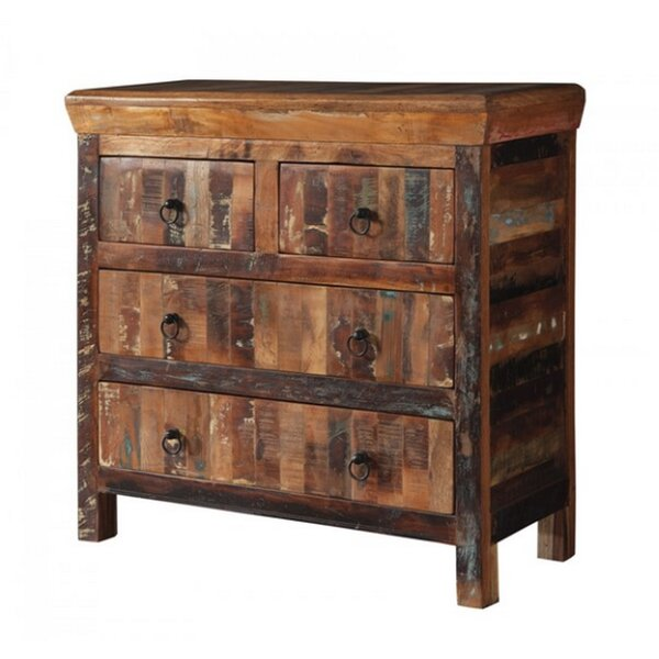 Gillette 4 Drawer Accent Chest by Loon Peak