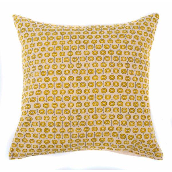 Geko Cotton Throw Pillow by Jiti