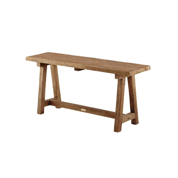 Acuna Wood Bench by Loon Peak