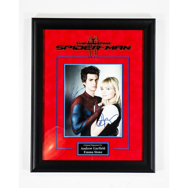 The Amazing Spider Man Framed Autographed Photograph by LuxeWest