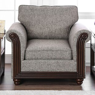 Beebe Fabric Wooden Armchair by Alcott Hill