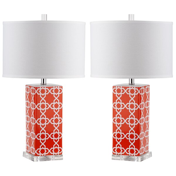 Casale 27 Table Lamp (Set of 2) by Latitude Run
