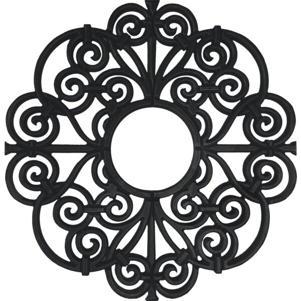 Ceiling Art Store Amany Frameless Ceiling Medallion